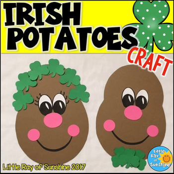 St. Patrick's Day Craft Irish Potatoes for March or Spring