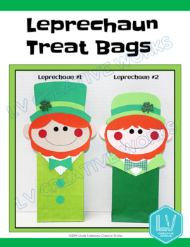 St. Patrick's Day Craft - Leprechaun Treat Bags