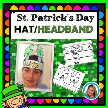 St. Patrick's Day Craft Lucky Clover Hat Headband