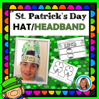 St. Patrick's Day Craft Lucky Clover Hat Headband