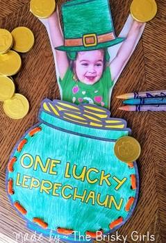 St. Patrick's Day Craft Lucky Leprechaun