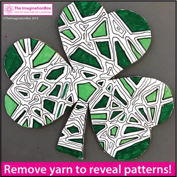 St. Patrick's Day Craft - Shamrock Activity