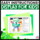 St. Patrick's Day Craft and Student Gifts