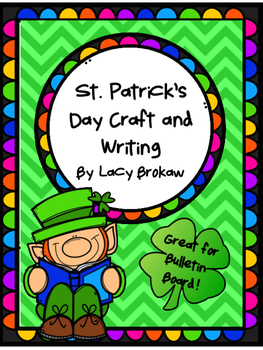 St. Patrick's Day Craft and Writing bulletin board