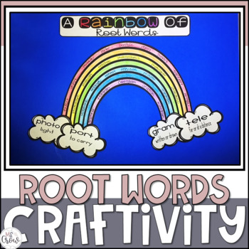 St. Patrick's Day Craftivity A Rainbow of Root Words