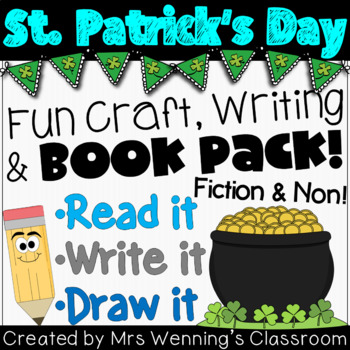 St. Patrick's Day Craftivity & Book Pack!