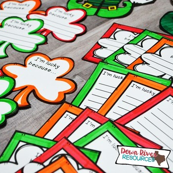 St. Patrick's Day Craftivity | St. Patrick's Day Writing  | March Bulletin Board