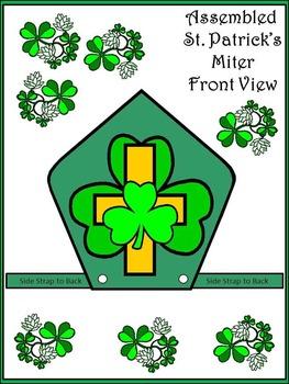 St. Patrick's Day Craft Activities: Saint Patrick's Miter Craft Activity
