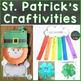 St. Patrick's Day Crafts (St. Patrick's Day Writing Craftivity Pack)