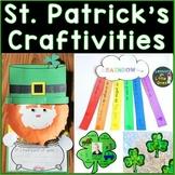 St. Patrick's Day Crafts (St. Patrick's Day Writing Craftivity Pack)