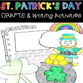 St. Patrick's Day Crafts and Writing Activities Leprechaun
