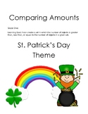 St. Patrick's Day Create a Set that is Greater Less Equal