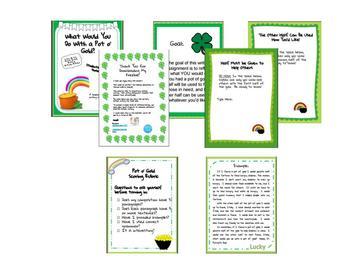 St. Patrick's Day Creative Writing Freebie!