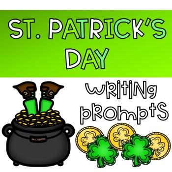 St. Patrick's Day Creative Writing Freebie