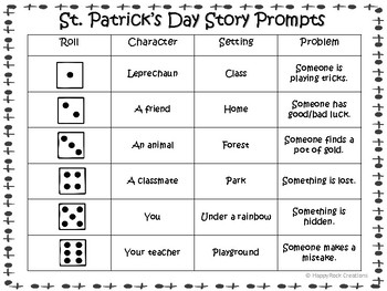 St. Patrick's Day Creative Writing Package