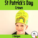 St Patrick's Day Crown Activity