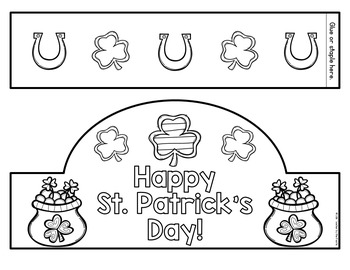 St. Patrick's Day Crown {FREE}