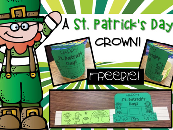 St. Patrick's Day Crown ~ FREEBIE!