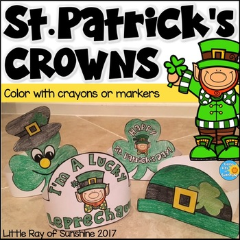 St. Patrick's Day Crowns