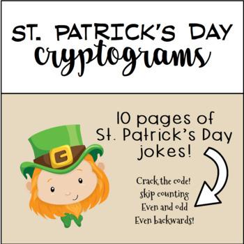 St. Patrick's Day Cryptograms