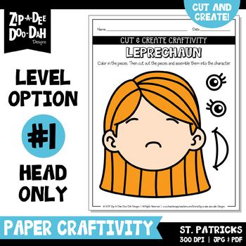 St. Patrick's Day Cut & Create Writing Craftivity {Zip-A-Dee-Doo-Dah Designs}