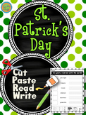 St. Patrick's Day - Cut and Paste