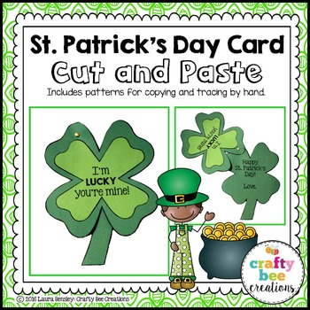 St. Patrick's Day Card Craft