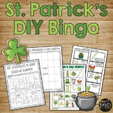 St. Patrick's Day Bingo Game DIY {DO IT YOURSELF}
