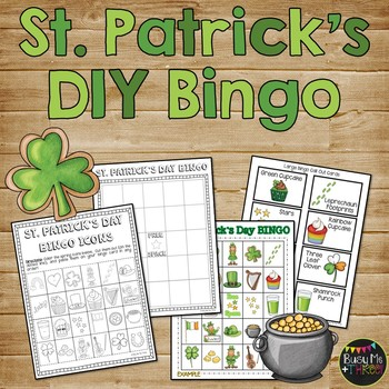 St. Patrick's Day DIY Bingo Game {DO IT YOURSELF}