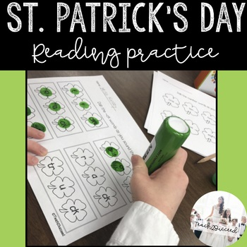 St. Patrick's Day Dabbing Phonics and Sight Word Pack