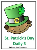 St. Patrick's Day Daily 5