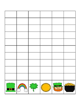 St. Patrick's Day Data Collection