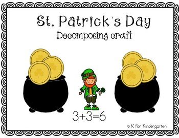 St. Patrick's Day Decomposing Craft