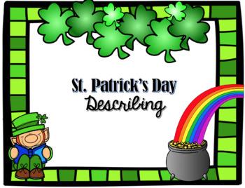 St. Patrick's Day Describing