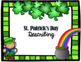 St. Patrick's Day Describing #mar2019slpmusthave