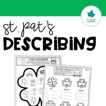 St. Patrick's Day Describing Activities