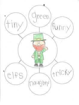 St Patrick's Day Descriptive Writing Freebie