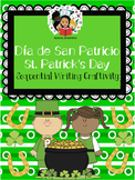 St.Patrick's Day / Día de San Patricio- Sequential Writing Craftivity - Spanish