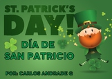 St. Patrick's Day (Día de San Patricio) - Spanish Vocabulary