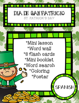 St. Patrick's Day, Día de San Patricio printable!