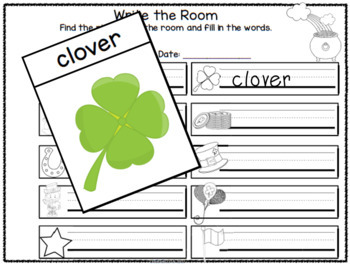 St Patrick's Day Differentiated Worksheets and Activities