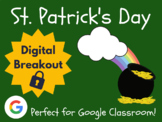 St. Patrick's Day - Digital Breakout! (Escape Room, Scavenger Hunt)