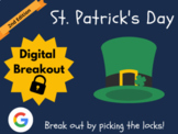 St. Patrick's Day - Digital Breakout! (Google Classroom, D