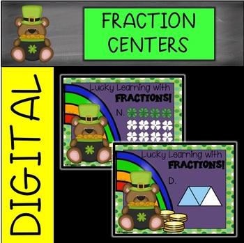 St. Patrick's Day Digital Fractions Center