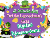 St. Patrick's Day Digital Inference Game-Find the Leprechaun's Gold