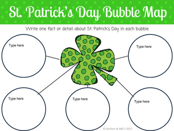 St. Patrick's Day Digital Interactive Notebook