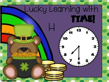 St. Patrick's Day Digital Math Centers BUNDLE