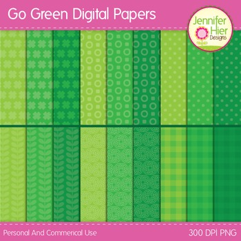 St. Patrick's Day Digital Paper