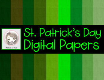 St. Patrick's Day Digital Paper
