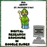 St. Patrick's Day Digital Research Brochure